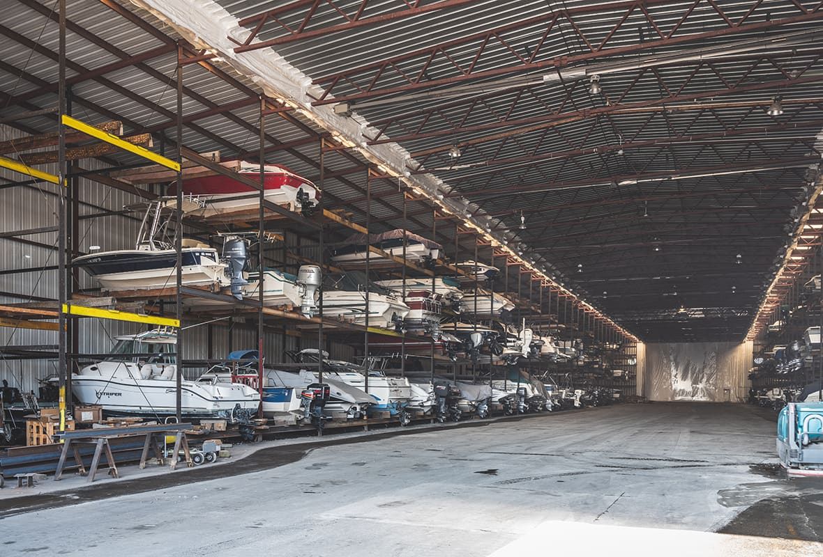 Indoor storage facility